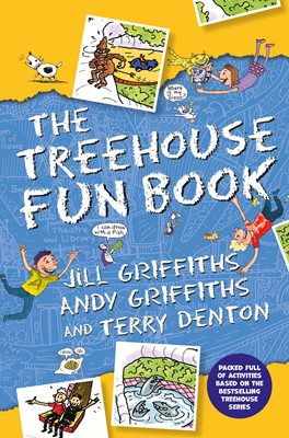 Book cover for The Treehouse Fun Book