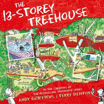 Book cover for The 13-Storey Treehouse