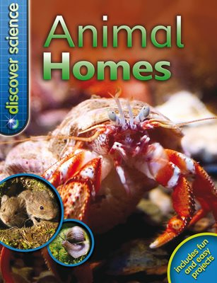 Book cover for Discover Science: Animal Homes