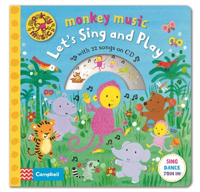 Monkey Music Let's Sing and Play
