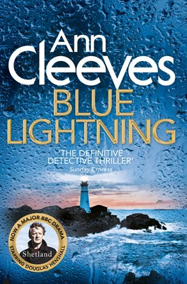 Book cover for Blue Lightning