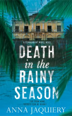 Book cover for Death in the Rainy Season