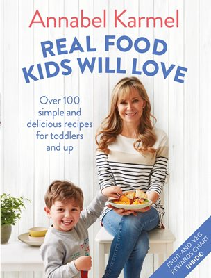 Book cover for Real Food Kids Will Love
