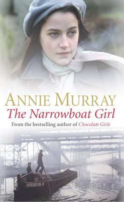 Book cover for The Narrowboat Girl
