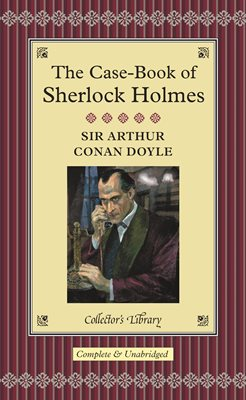 Book cover for The Case-Book of Sherlock Holmes