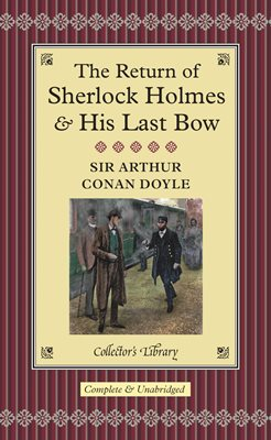 Book cover for The Return of Sherlock Holmes & His...