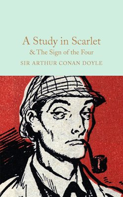 Book cover for A Study in Scarlet & The Sign of the...