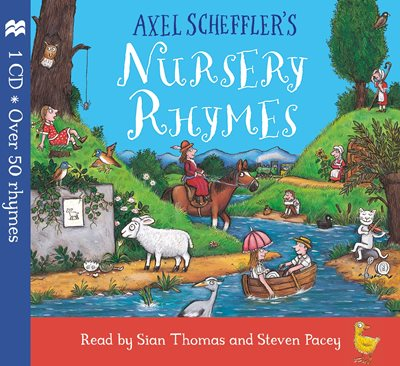 Book cover for Axel Scheffler's Nursery Rhymes