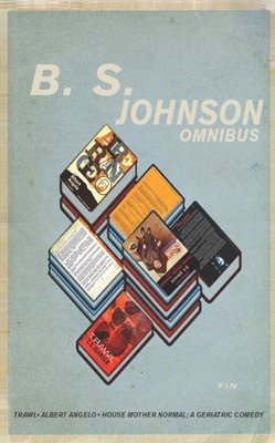 Book cover for B. S. Johnson Omnibus