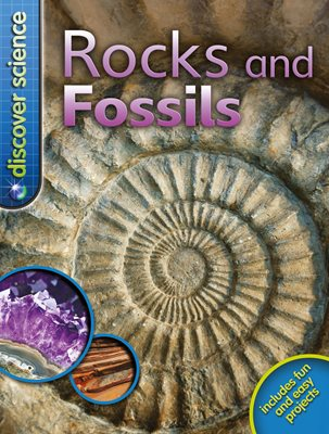 Book cover for Discover Science: Rocks and Fossils