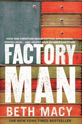 Book cover for Factory Man