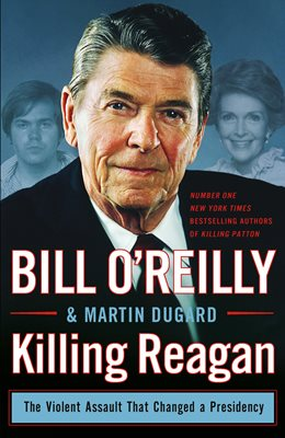 Book cover for Killing Reagan
