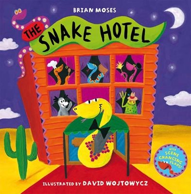 Book cover for The Snake Hotel