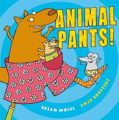 Book cover for Animal Pants