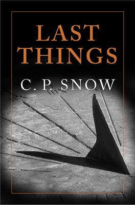 Book cover for Last Things