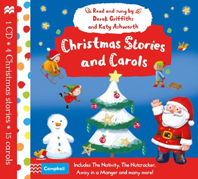 Book cover for Christmas Stories and Carols Audio