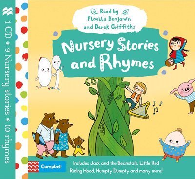 Book cover for Nursery Stories and Rhymes Audio