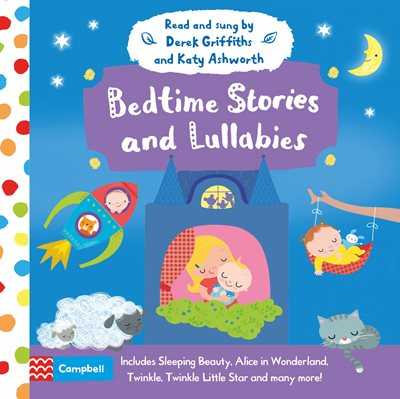Book cover for Bedtime Stories and Lullabies Audio