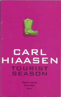 Book cover for Tourist Season