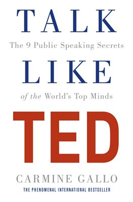 Book cover for Talk Like TED