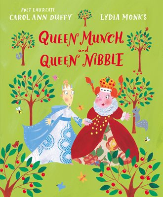 Book cover for Queen Munch and Queen Nibble
