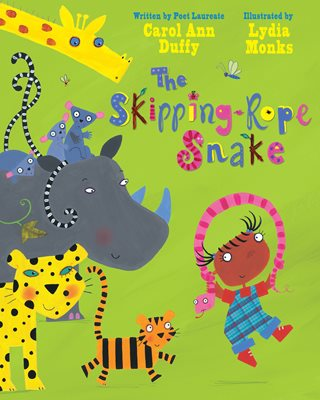 Book cover for The Skipping-Rope Snake