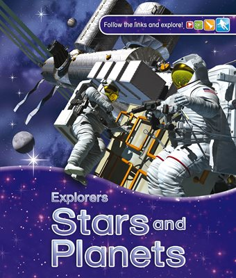Book cover for Explorers: Stars and Planets