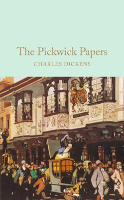 Book cover for The Pickwick Papers