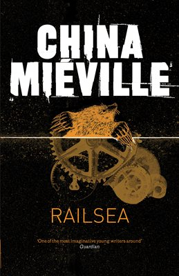 Book cover for Railsea