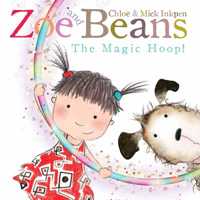 Book cover for Zoe and Beans: The Magic Hoop