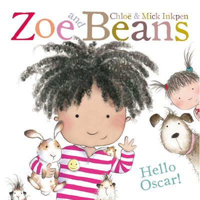Book cover for Zoe and Beans: Hello Oscar