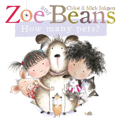 Book cover for Zoe and Beans: How Many Pets?