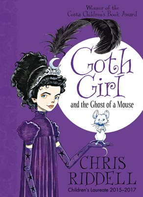 Book cover for Goth Girl and the Ghost of a Mouse