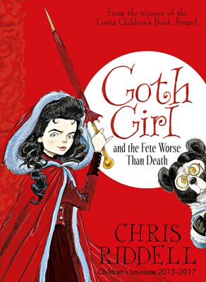 Book cover for Goth Girl and the Fete Worse Than Death