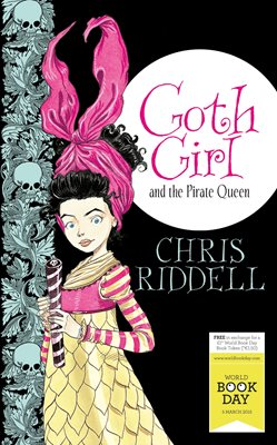 Book cover for Goth Girl and the Pirate Queen