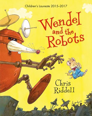 Book cover for Wendel and the Robots