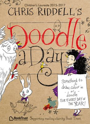 Book cover for Chris Riddell's Doodle-a-Day