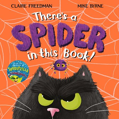 Book cover for There's A Spider In This Book