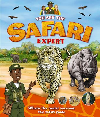 Book cover for You Are the Safari Expert