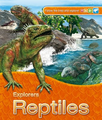 Book cover for Explorers: Reptiles
