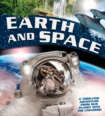 Book cover for Earth and Space