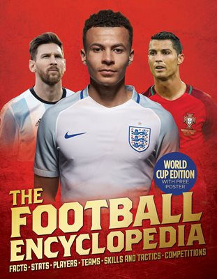 Book cover for The Kingfisher Football Encyclopedia