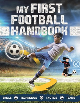 Book cover for My First Football Handbook