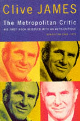 Book cover for The Metropolitan Critic
