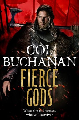 Book cover for Fierce Gods