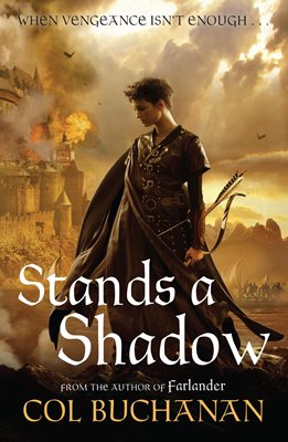 Book cover for Stands a Shadow