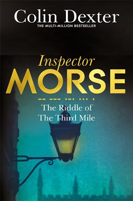 Book cover for The Riddle of the Third Mile