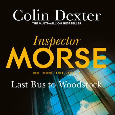 Book cover for Last Bus to Woodstock