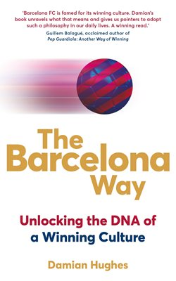 Book cover for The Barcelona Way