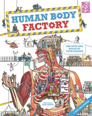 Book cover for The Human Body Factory